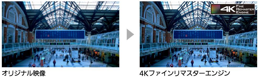 4Kファインリマスターエンジン(4Kビエラ)